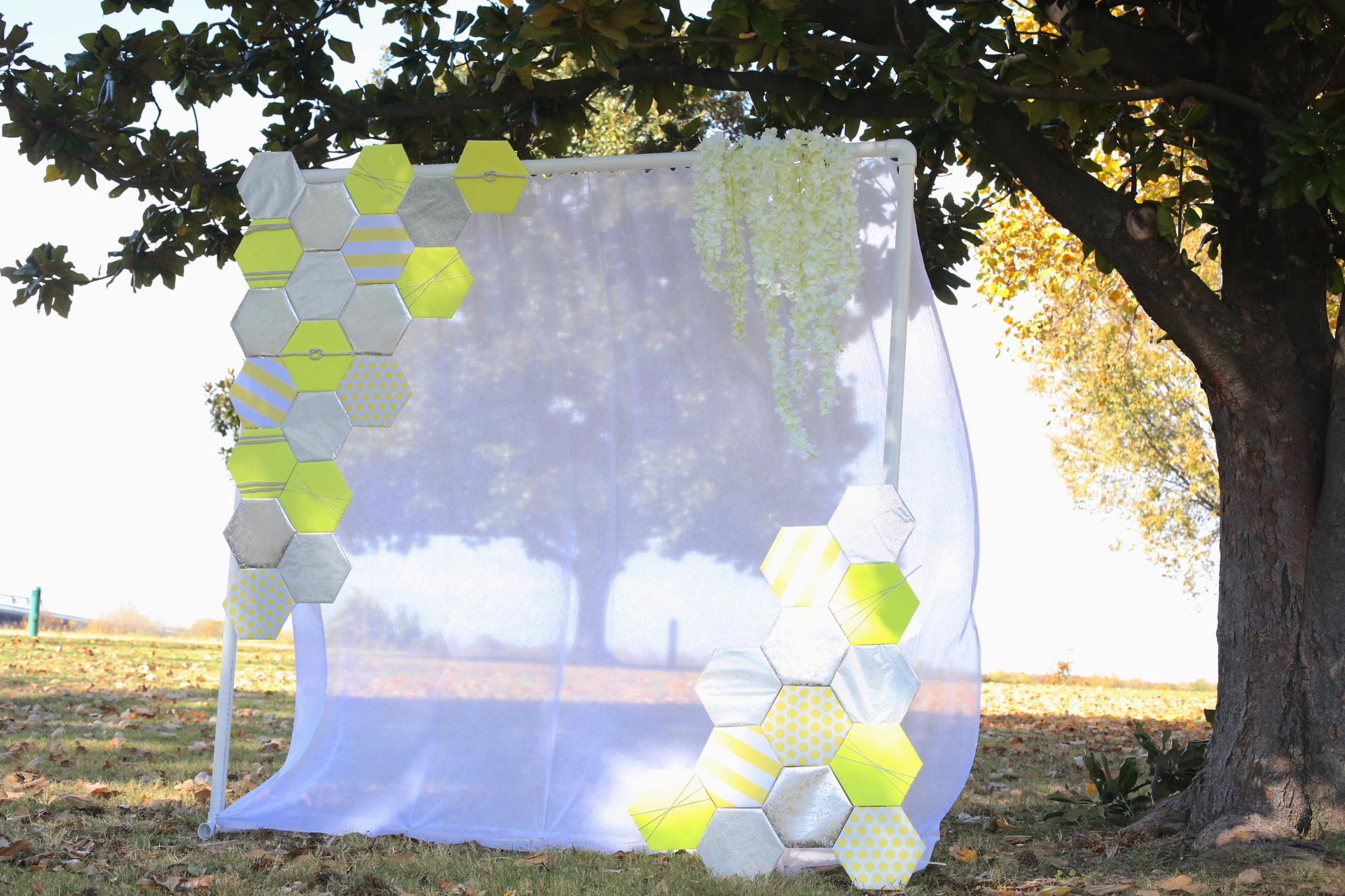 outdoor hexagon Photo Booth